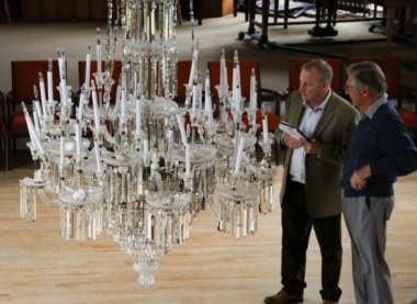 Sidholme Music Room Chandelier Restorations
