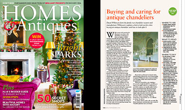 'The Restorers' for Home & Antiques Magazine