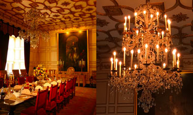 Warwick Castle Chandelier Restoration