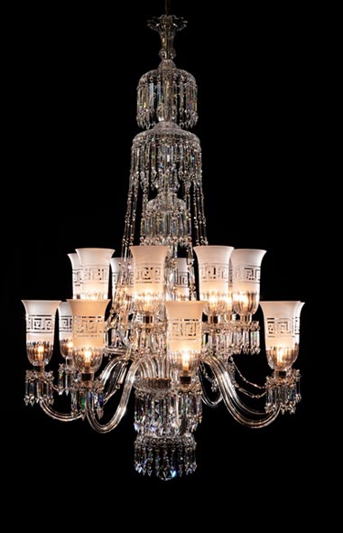 16 light Perry style chandelier