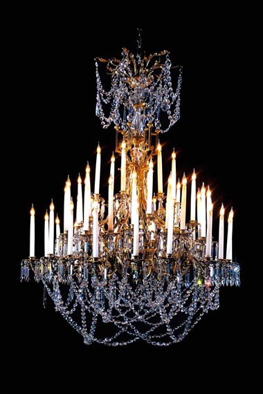 48 light French chandelier