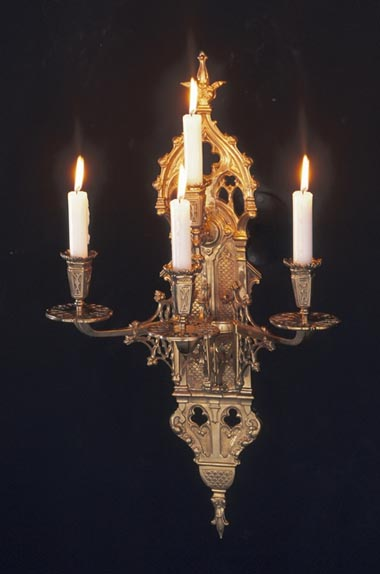 Gothic style wall light