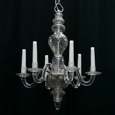 Small early Georgian style chandelier