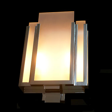 Reproduction Art Deco wall lights