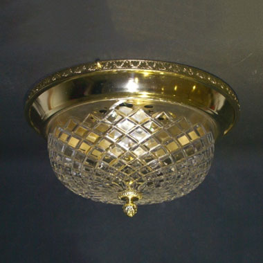 Flush bowl light