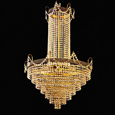 Swarovski waterfall chandelier
