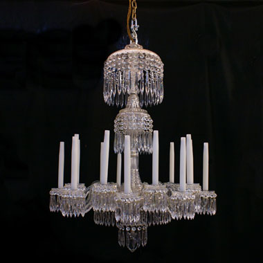 18 branch Regency chandelier