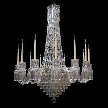 Reproduction Victorian tent and Waterfall chandelier